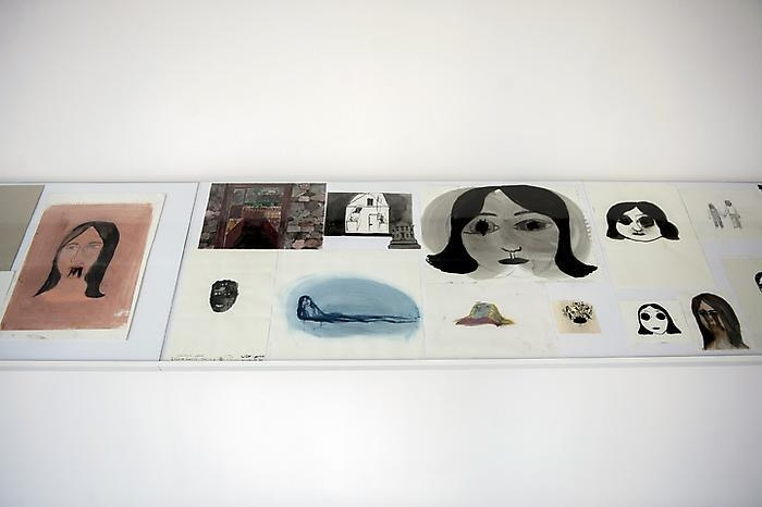 KLARA KRISTALOVA Installation view, 2012