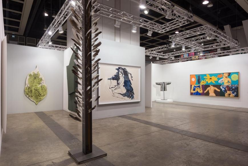 Installation view, Booth 1C14, Art Basel Hong Kong 2016