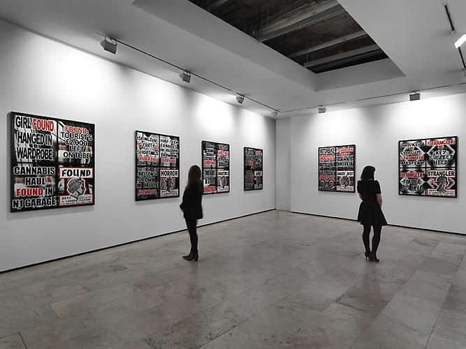 Gilbert & George: London Pictures Installation View 3