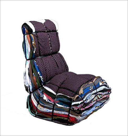 DROOG DESIGN Munich Rag Chair, 2004