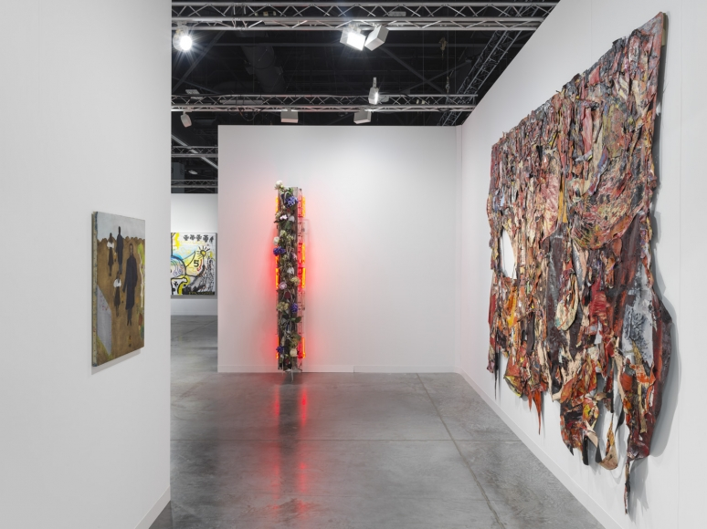 Installation view of Lehmann Maupin's booth at Art Basel Miami Beach 2018, view 5