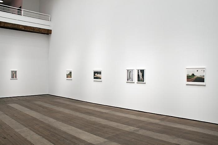 Installation view of Juergen Teller exhibition at Lehmann Maupin in New York, view 1