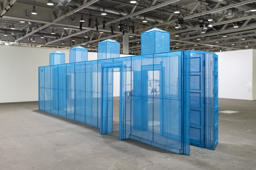 Do Ho Suh artwork in Art Basel Unlimited sector, perspective 1