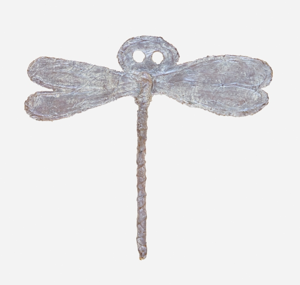 """HEIDI BUCHER, Untitled Dragonfly object (from the """"Libellenrochen""""series), 1978–1983"""