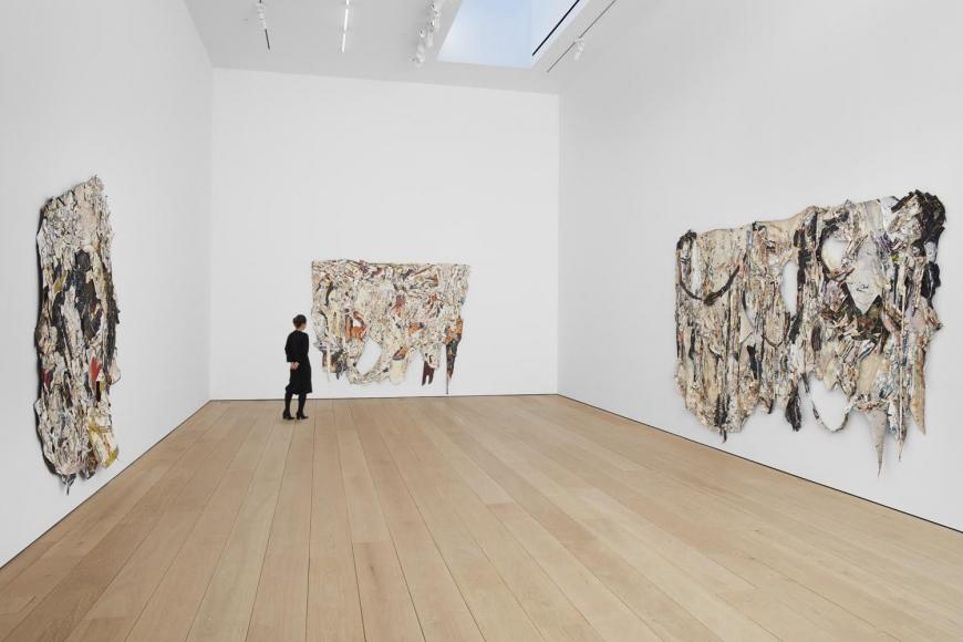 Angel Otero,Milagros, Installation view, Lehmann Maupin, New York, 2019