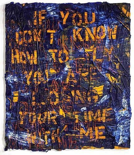 ANGEL OTERO If you don't know how to fly you are losing your time with me, 2011