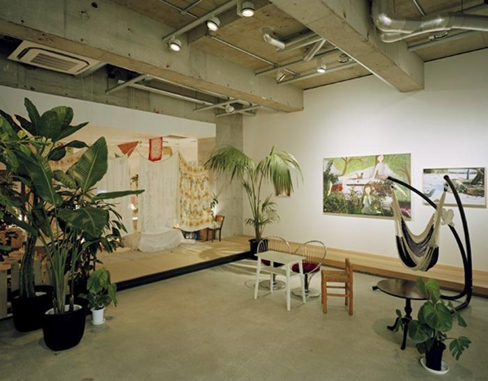 Installation view of SUN at Kaikai Kiki Gallery, 2008