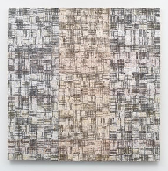 MCARTHUR BINION, DNA: White Painting: V, 2015
