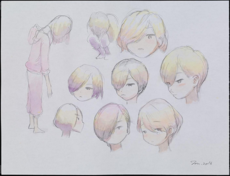 MR. Faces with Short Haircuts, 2016