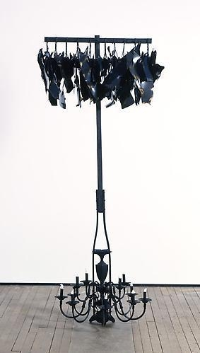 NARI WARD Hanging Lights; Cotton Flames, 2010