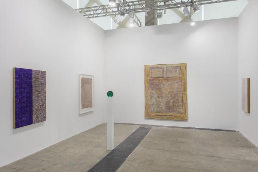 Installation view of Lehmann Maupin's booth at West Bund Art & Design 2019 in Shanghai, view 4