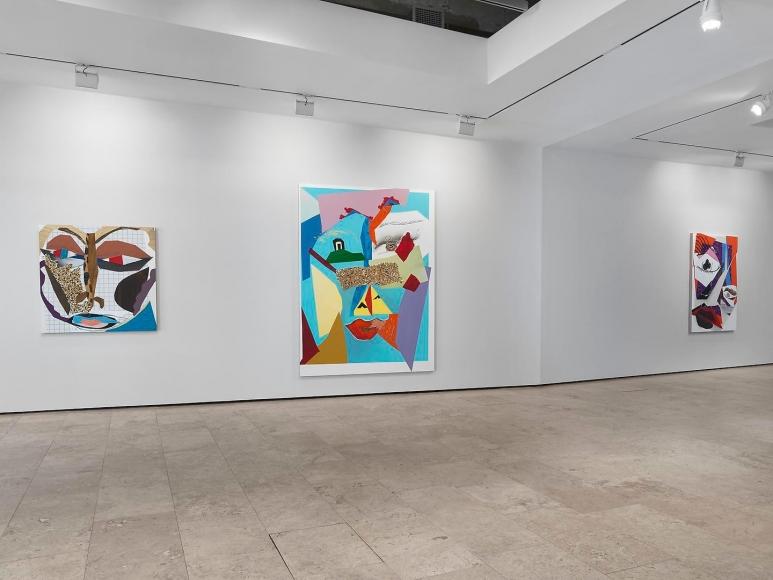 Mickalene Thomas: Tête de Femme Installation view 2