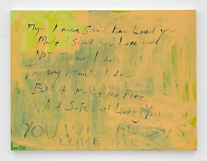 TRACEY EMIN Another love story, 2011-2015