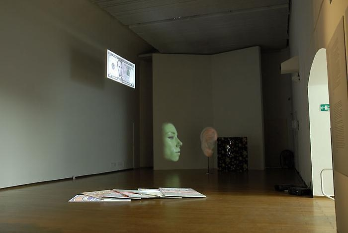 TONY OURSLER Installation view, 2011