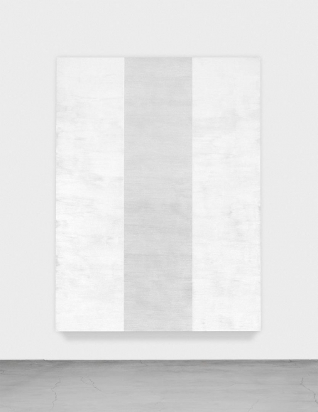 MARY CORSE Untitled (White Inner Band, Beveled), 2011