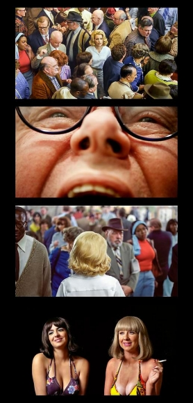ALEX PRAGER, Face in the Crowd Film Strip #1, 2013