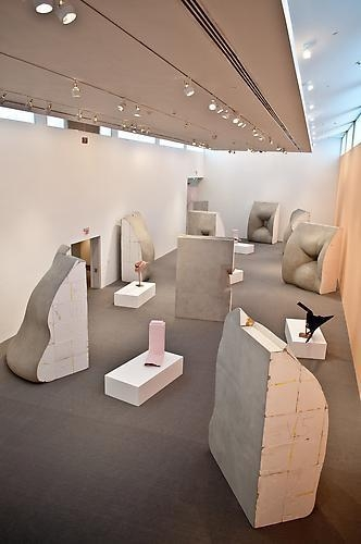 ERWIN WURM Installation view, Bass Museum of Art, Miami, FL, 2011