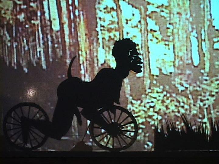 KARA WALKER Fall Frum Grace, Miss Pipi's Blue Tale(film still),2011