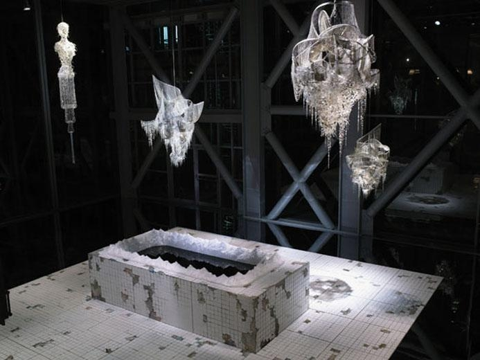 View of the exhibition Lee Bul,  On Every New Shadow