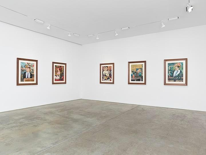 Hernan Bas, Bright Young Things Installation view 2