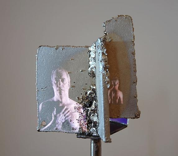 TONY OURSLER Mirror Return (detail), 2010
