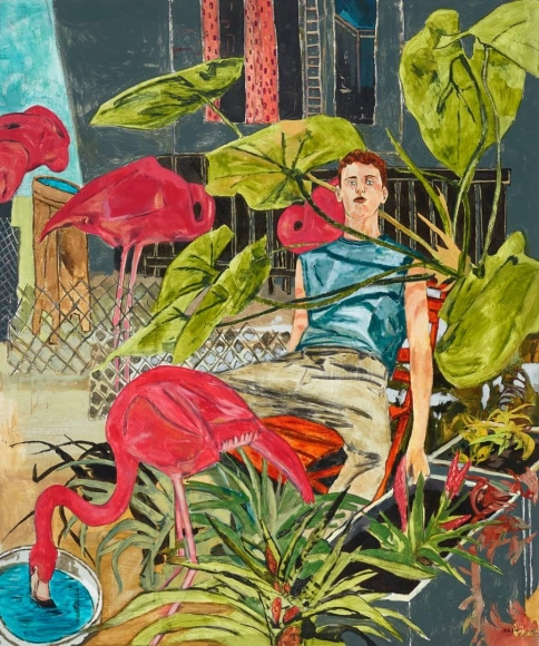 HERNAN BAS, The flamingo farmer's son, 2014
