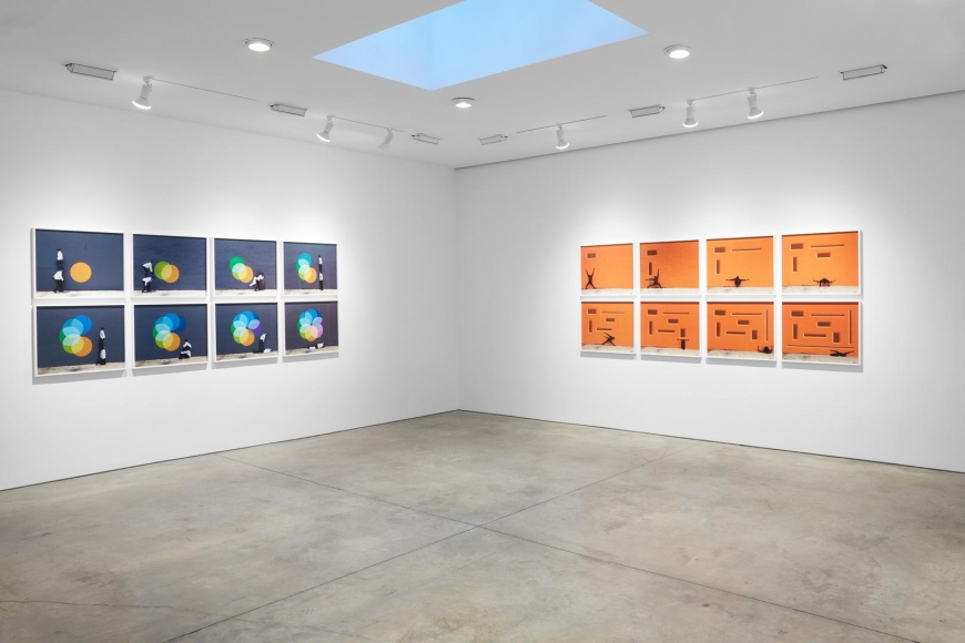 Robin Rhode, The Geometry of Colour installation view 7