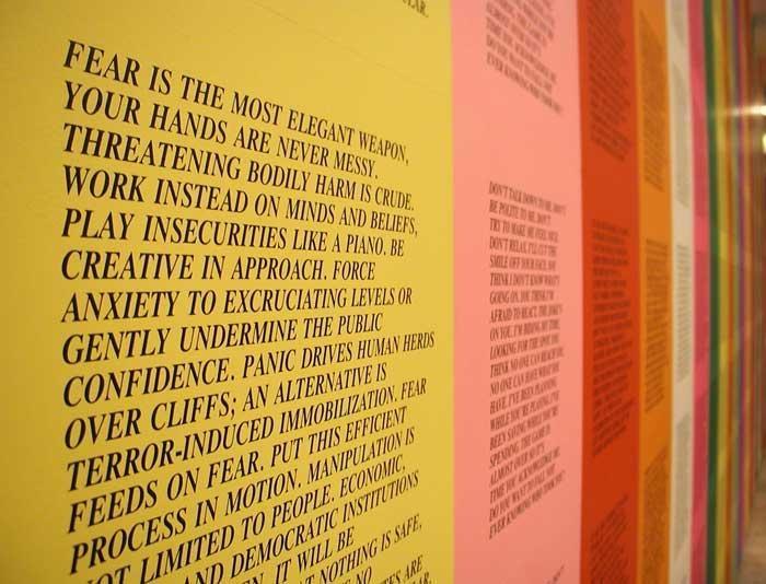 JENNY HOLZER Set of Inflammatory Essays Posters (English), 1979-1982