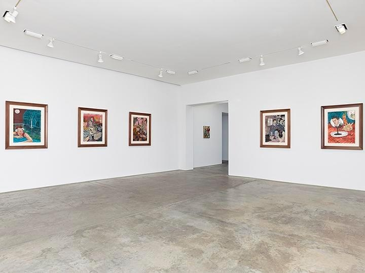 Hernan Bas, Bright Young Things Installation view 3