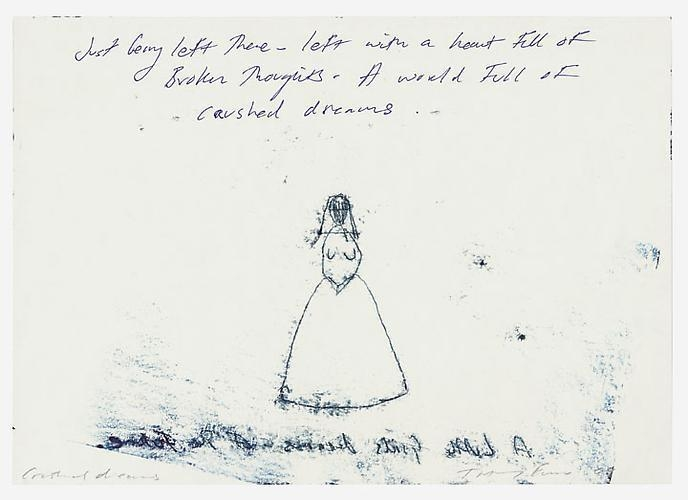 TRACEY EMIN Crushed Dreams, 2009