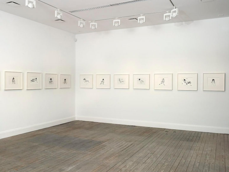 Tracey Emin: I Followed You To The Sun Installation view 4