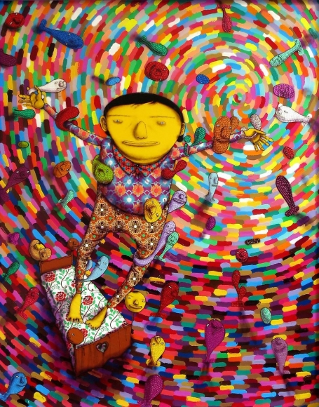 OSGEMEOS Untitled, 2013