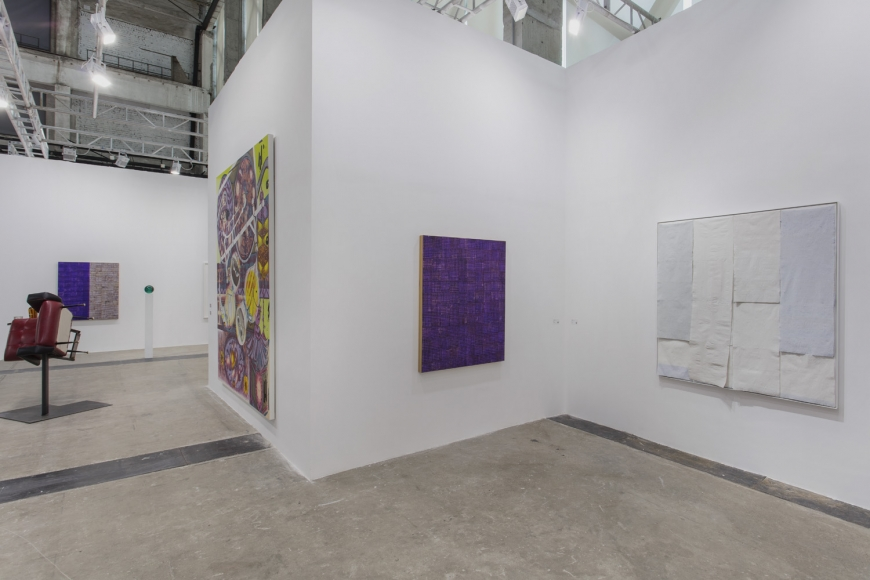 Installation view of Lehmann Maupin's booth at West Bund Art & Design 2019 in Shanghai, view 12