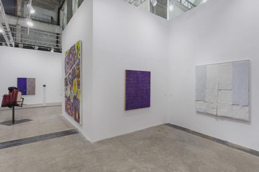 Installation view of Lehmann Maupin's booth at West Bund Art & Design 2019 in Shanghai, view 12