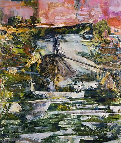 HERNAN BAS The bagpiper in exile (or, the sad wind), 2009