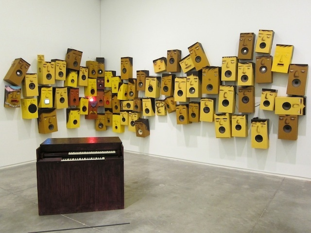OSGEMEOS Installation view