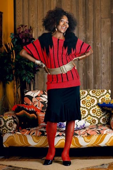 MICKALENE THOMAS Sandra: She's a Beauty Standing, 2012