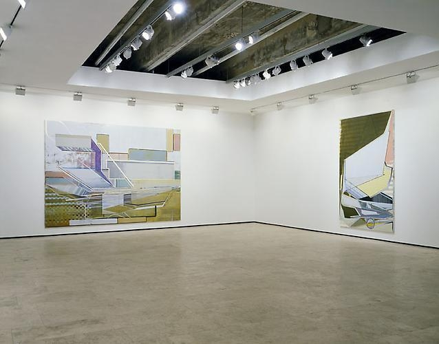 CHRISTIAN HELLMICH: The Array/Transfer-Domino Installation view 3