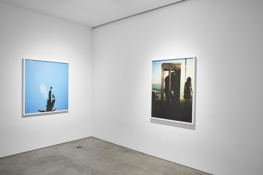 Alex Prager,Play the Wind, Installation view, Lehmann Maupin, New York