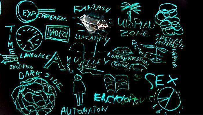 TONY OURSLER Blackboard