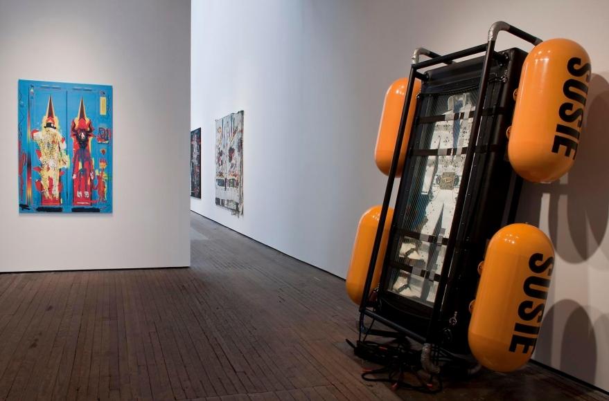 Ashley Bickerton & Nicolas Pol Installation view 3