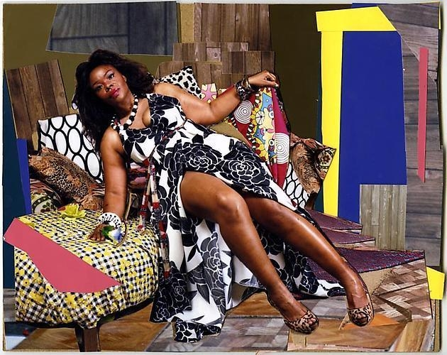 MICKALENE THOMAS She Ain't a Child No More, 2010