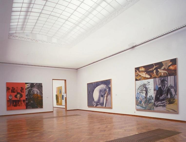 David Salle:Schilderijen