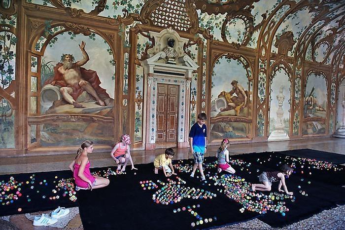 Installation view Palazzo Ducale, Mantova