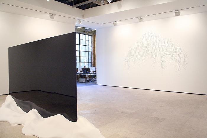 TERESITA FERNANDEZ Installation at Lehmann Maupin Gallery