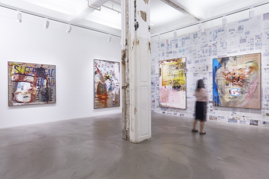 Mandy El-Sayegh, Dispersal, Installation view at Lehmann Maupin, Hong Kong
