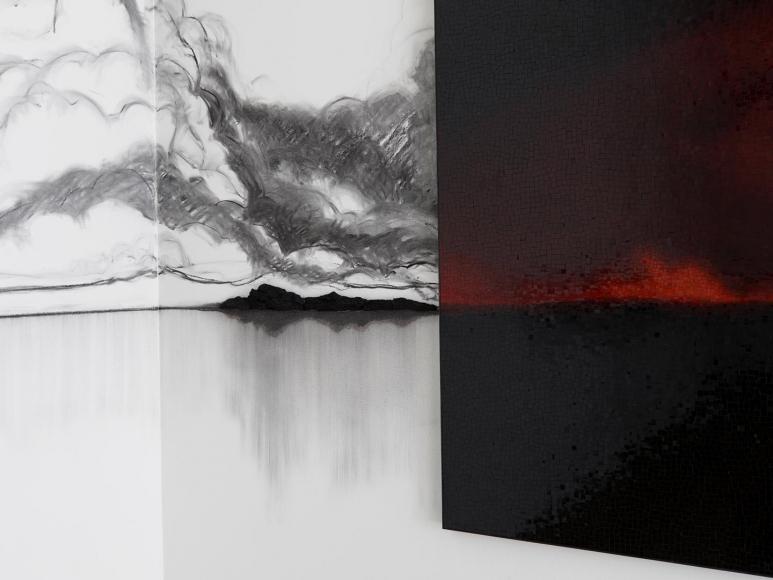 Teresita Fernández, Fire (America) installation view 4