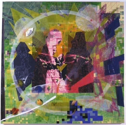 Meninas/Rez, 2002 acrylic on canvas