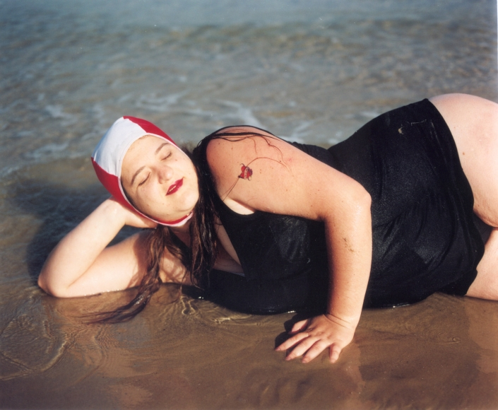 RONA YEFMAN Sigalit on the Beach, 2001