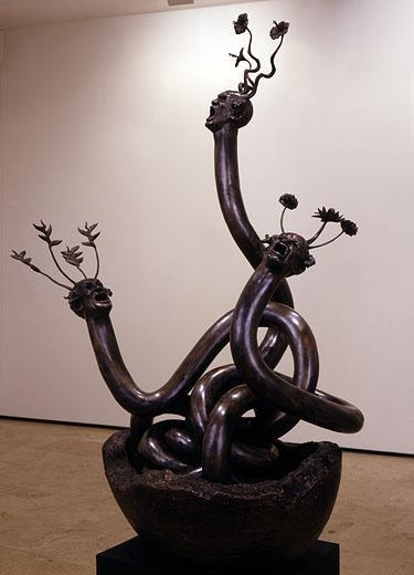 ASHLEY BICKERTON Triple Snake Head , 2008